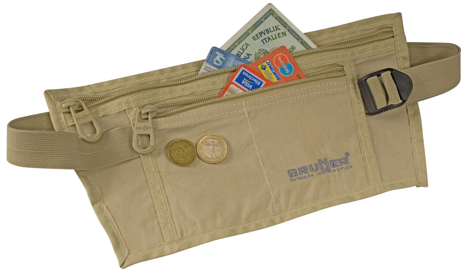 MONEY BELT BEIG